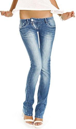 bestyledberlin damen jeans hosen low rise h ftjeans slim. Black Bedroom Furniture Sets. Home Design Ideas