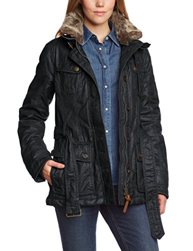 camel active damen parka jacke 320680 8587 gr 38 blau navy 42 besten mode. Black Bedroom Furniture Sets. Home Design Ideas
