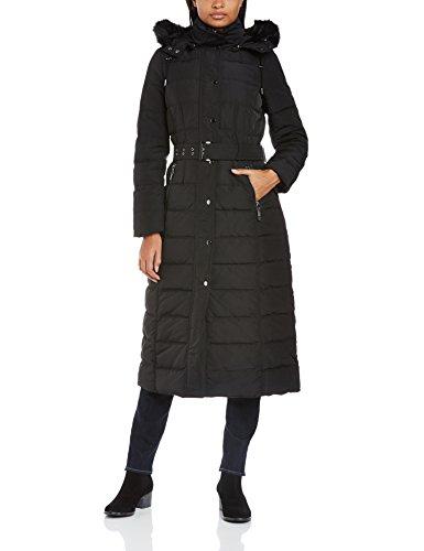 buy popular 28bc2 7065c Esprit Damen Daunenjacke Mantel 104Ee1G035, Gr. 38 (Herstellergröße:3Size  8), Schwarz