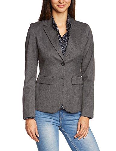 more more damen blazer sina i einfarbig gr 42 grau anthra melange 769 besten mode. Black Bedroom Furniture Sets. Home Design Ideas